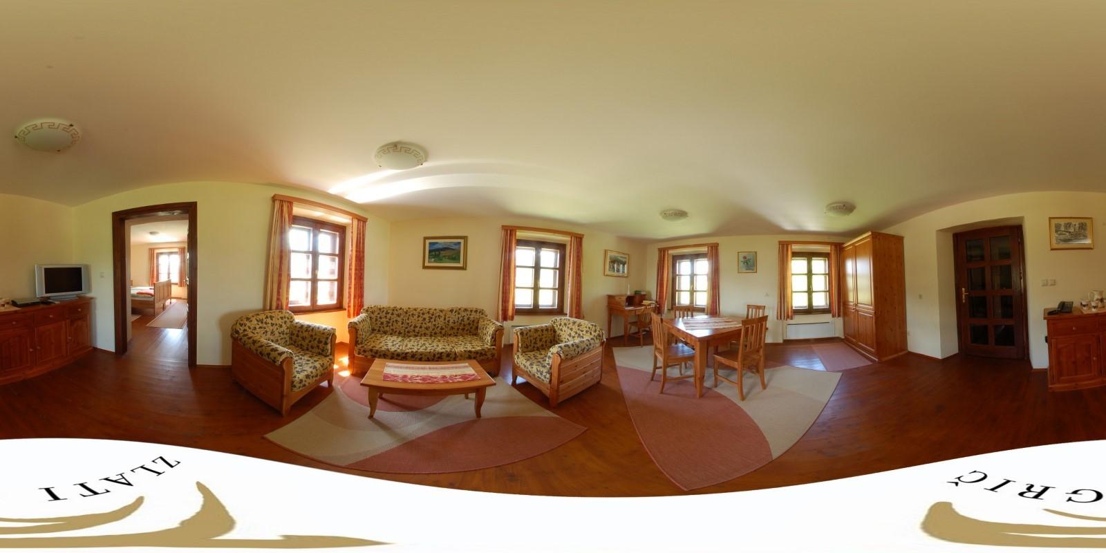 Vinogradniški dvorec - dnevna soba