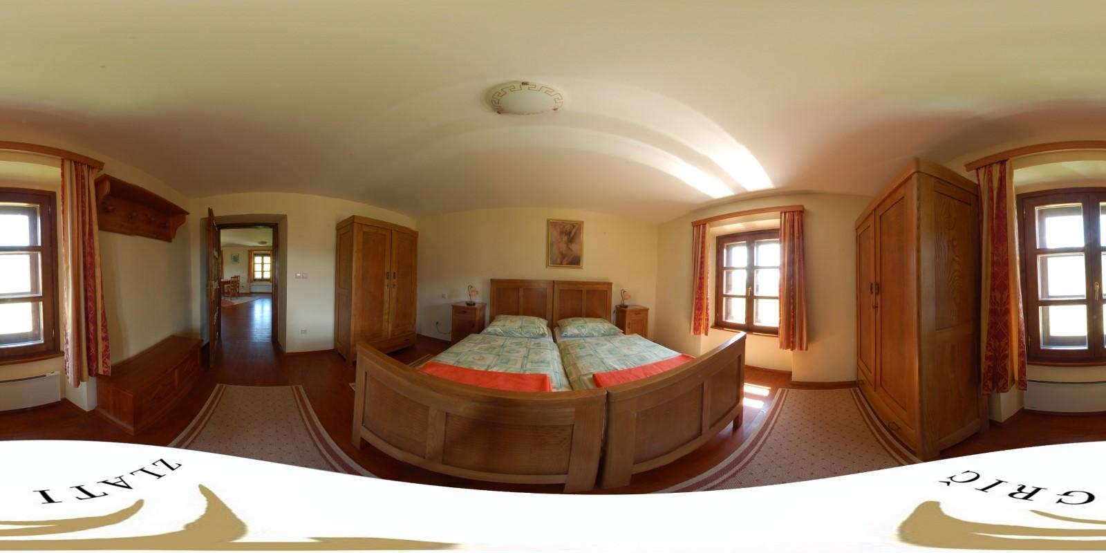 Vinogradniški dvorec - soba